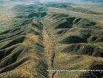 THE SAN ANDREAS FAULT - COOL AERIAL VIEW OF DETAILS strangecosmos.com