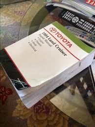 for sale toyota fzj80 landcruiser factory service manual 1994