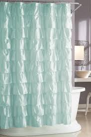 best ideas about girl bathrooms pinterest bathroom looks like waves the ocean steve madden ruffles shower curtain