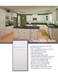 Kitchen Cabinets White Shaker Kitchen Cabinets Quality Wood Cabinets At Discounted Prices