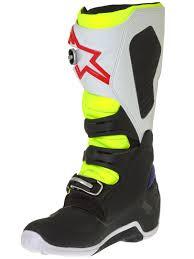 green motocross boots alpinestars white fluorescent navy tech 7 mx boot alpinestars