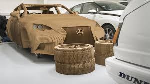 lexus cardboard sedan newmotoring inside toyota u0027s secret heritage workshop u2013 newmotoring
