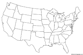 States Of United States Map by Paintcolor Maps With Statistics Online Free Tool Coloring Page Of
