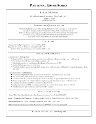 Summary Of Qualifications Sample Resume by Functional Freelance Makeup Artist Resume Templates And Summary Of