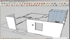 cad floor plans sketchup import and model an autocad floor plan youtube