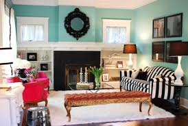 Turquoise Living Room Chair by Decoration Ideas Interior Living Room Fetching Eclectic Living