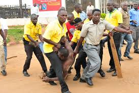 KCCA officers Effecting An Arrest |Monitor