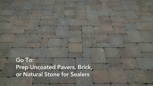 How To Seal A Paver Patio by How To Apply Behr Premium Wet Look Sealer Youtube