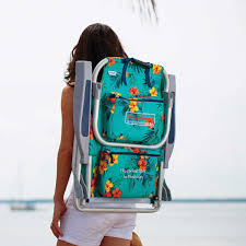 Tommy Bahamas Chairs Amazon Com 2 Tommy Bahama Backpack Beach Chairs Turquoise 1