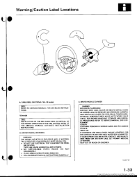 airbag honda civic 1998 6 g workshop manual