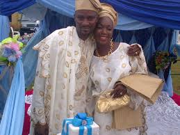 Talented Yoruba actor, Taiwo Hassan popularly called Ogogo witnessed the successful traditional wedding ceremony of his daughter over the weekend at his ... - ogogo-daughter-wedding-photos-1