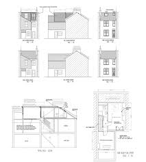 Floor Plan With Roof Plan by Victorian House L Shaped Dormer Loft Conversion With Roof Light