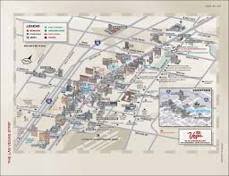 Vegas Monorail Map Las Vegas Strip Restaurants Map Virginia Map
