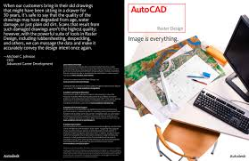 autocad raster design autodesk pdf catalogue technical