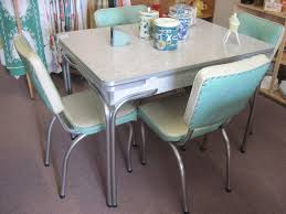 Berkeley Retro Dining Table In Tasmanian Blackwood Nebraska Chrome - Kitchen table sets canada