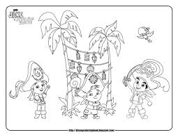 jnp bcelebration jake and the neverland pirates coloring pages