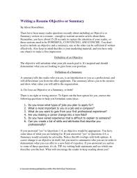 Resume Definition What Is The Summary In A Resume Free Resume Example And Writing