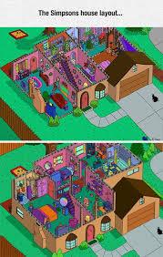 742 Evergreen Terrace Floor Plan 17 Best Images About Die Simpsons On Pinterest Disney The