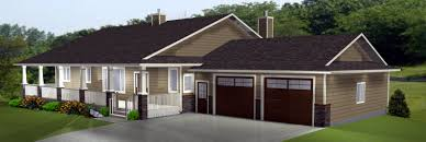 One Level House Plans With Basement Ranch Style House Plans With Basements L Shaped Ranch Remodel