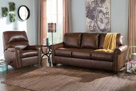 Chocolate Living Room Furniture by Amazon Com Ashley 3800039 Lottie Durablend Chocolate Queen Sofa