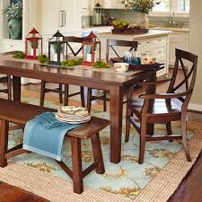 Torrance Mahogany Brown Dining Tables Pier  Imports - Pier one dining room sets