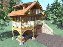 the bachelor is a 484 sq ft 1 bedroom 2 bathroom two floor log