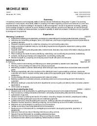 spa management resume examples administrative support resumes