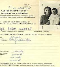 Migrant selection     National Archives of Australia  Australian     National Archives of Australia Detail from a radiologist     s report on an Italian family