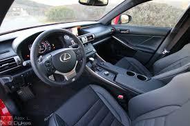 lexus is sedan 2016 2016 lexus is 200t interior 002 the truth about cars