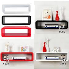 Floating Box Shelves by Box Shelves Wall Mounted Wall Mounted Shelves Pinterest
