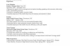 Example Server Resume by Restaurant Server Experience Resume Examples Waiter Resume Sample