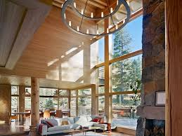 Exposed Beam Ceiling Living Room by Sensational High Ceiling Living Room Living Room Window Treatments