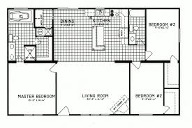 3 bedroom floor plan c 8206 hawks homes manufactured 3 bedroom floor plan c 8206