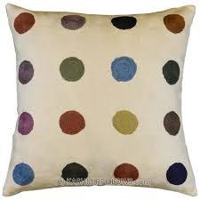 cheap decorative pillows for sofa polka dots ivory modern throw pillows cream cushion cover accent