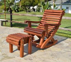 Rocking Chair Cusion Outdoor Wooden Rocking Chair With Built In Lower Back Support