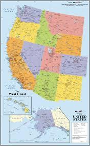 Map Florida Gulf Coast by West Coast Map Usa Adriftskateshop