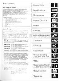1999 2003 acura 3 2 tl repair shop manual factory reprint
