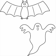 Halloween Preschool Printables Pumpkin Funny Coloring Pages Of Bats Halloween Cat And Bats