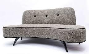 Mid Century Modern Sofas by Mid Century Kidney Shaped Sofa At 1stdibs
