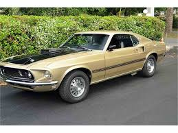 1969 Mustang Black Jade 1969 Ford Mustang Mach 1 For Sale On Classiccars Com 18 Available