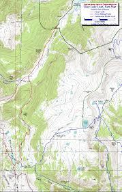 Southern Colorado Map by Blue Lake Loop South San Juan Wilderness Colorado Free Topo