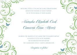 wedding invite templates u2013 gangcraft net