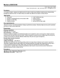 Sample Resume  Child Care Teacher Or Assistant Resume