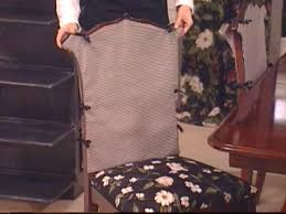 how to sew chair covers hgtv