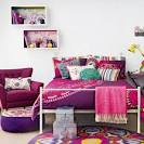 Colourful folk-style bedroom | housetohome.