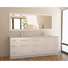 bathroom gray fresca vanity with double sink vanity and graff