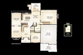 the madison ryder ridge first floor plan with two three car garage