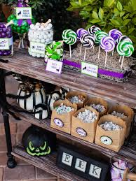 halloween trick or treat candy station hgtv
