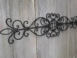 garden wall decor wrought iron u2013 home design and decorating