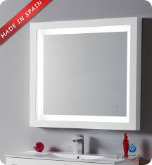 Bathroom Mirror With Lights Built In by Elegant Bathroom Mirror With Lights And Bathroom Mirrors With Led